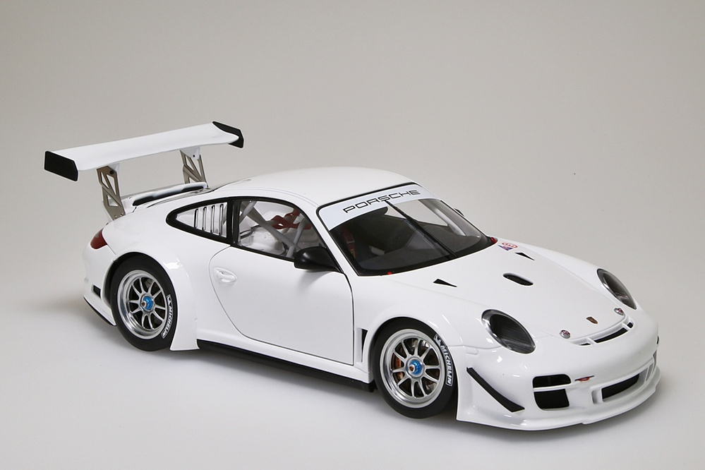 Porsche 911 (997) GT3 R   2010 Plain Body Version weiss  – Bild 9