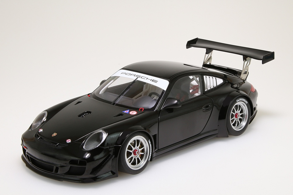 Porsche 911 (997) GT3 R   2010 Plain Body Version schwarz  – Bild 3