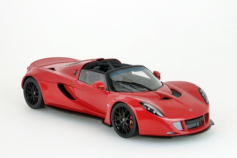 Hennessey Venom Gt Spyder 2010 rot – Bild 9