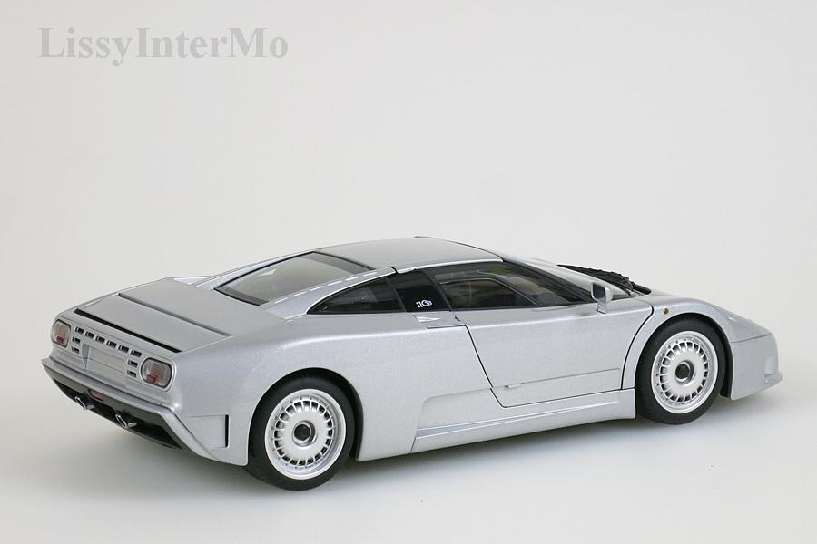 Bugatti EB 110 GT 1991 silber – Bild 7
