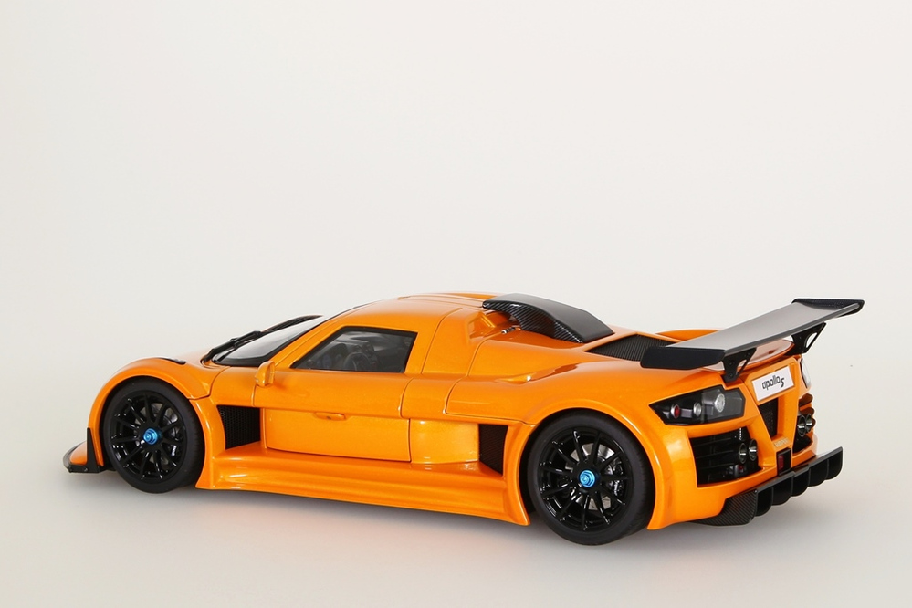 Gumpert Apollo S 2005 metallic orange – Bild 3