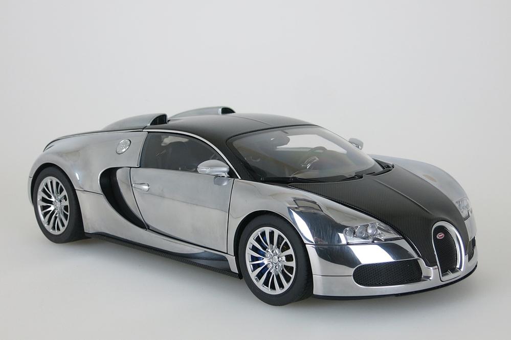 Bugatti Veyron EB 16.4  2008 schwarz / aluminium – Bild 7