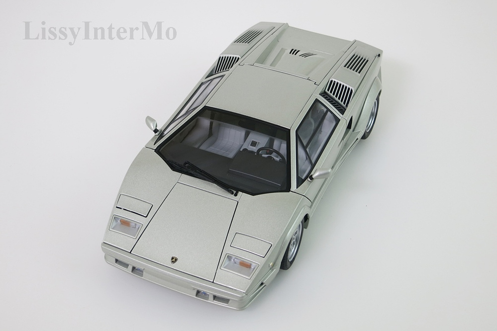 Lamborghini Countach 1990 25th Anniversary Edition hellgrau metallic – Bild 12