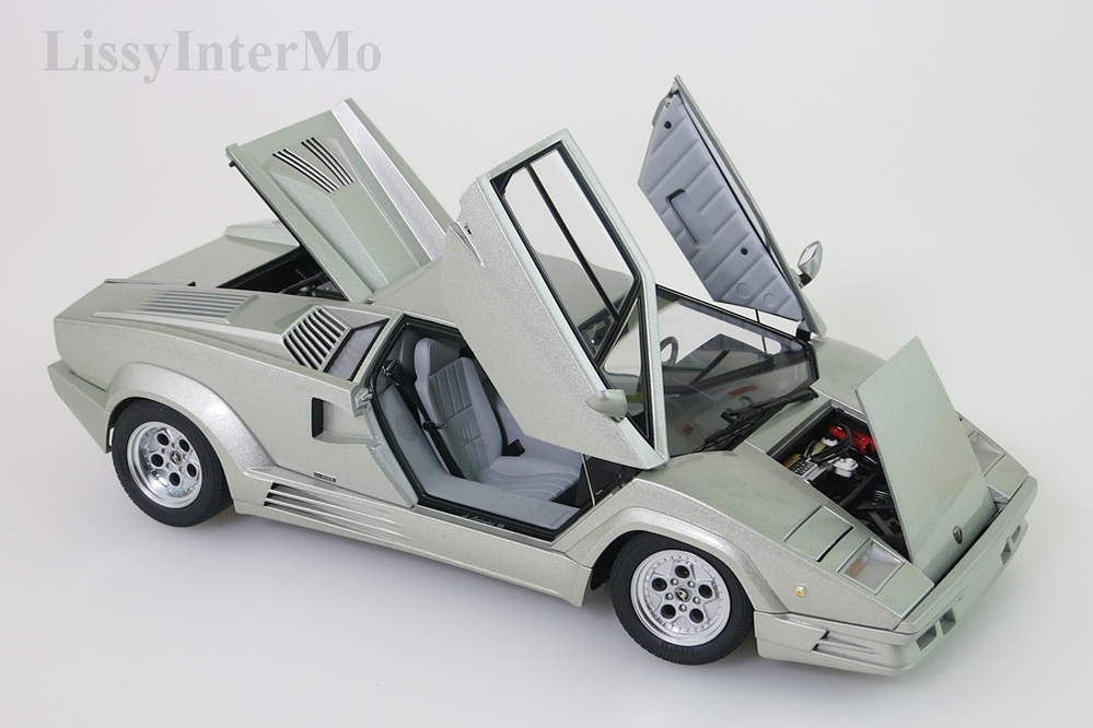 Lamborghini Countach 1990 25th Anniversary Edition hellgrau metallic – Bild 11