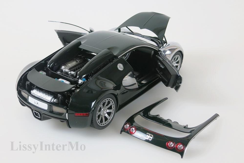 Bugatti Veyron EB 16.4  2009  L'Edition Centenaire Malcolm Campbell racing grün – Bild 10