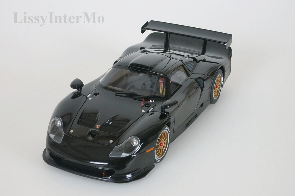 Porsche 911 GT1  1997  Plain Body Version schwarz – Bild 3