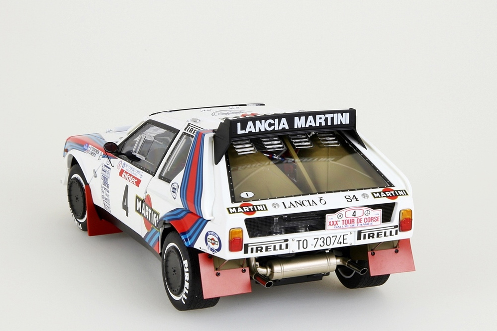 Lancia Delta S4 1986 Martini Tour de Corse 1986 Toivonen/Cresto #4 – Bild 2