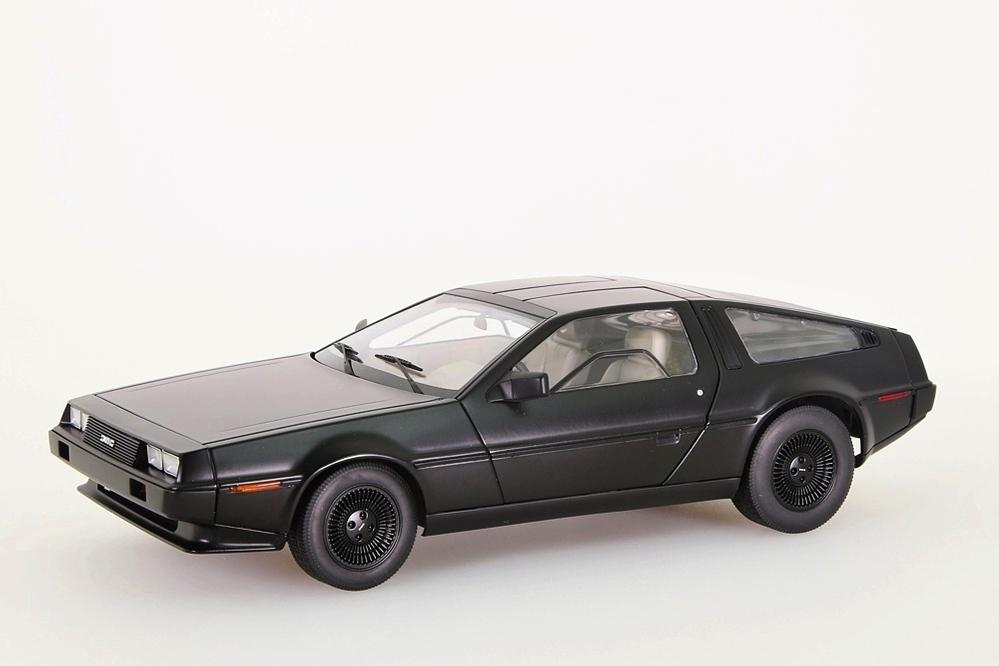 DeLorean DMC-12 1981 schwarz matt – Bild 1