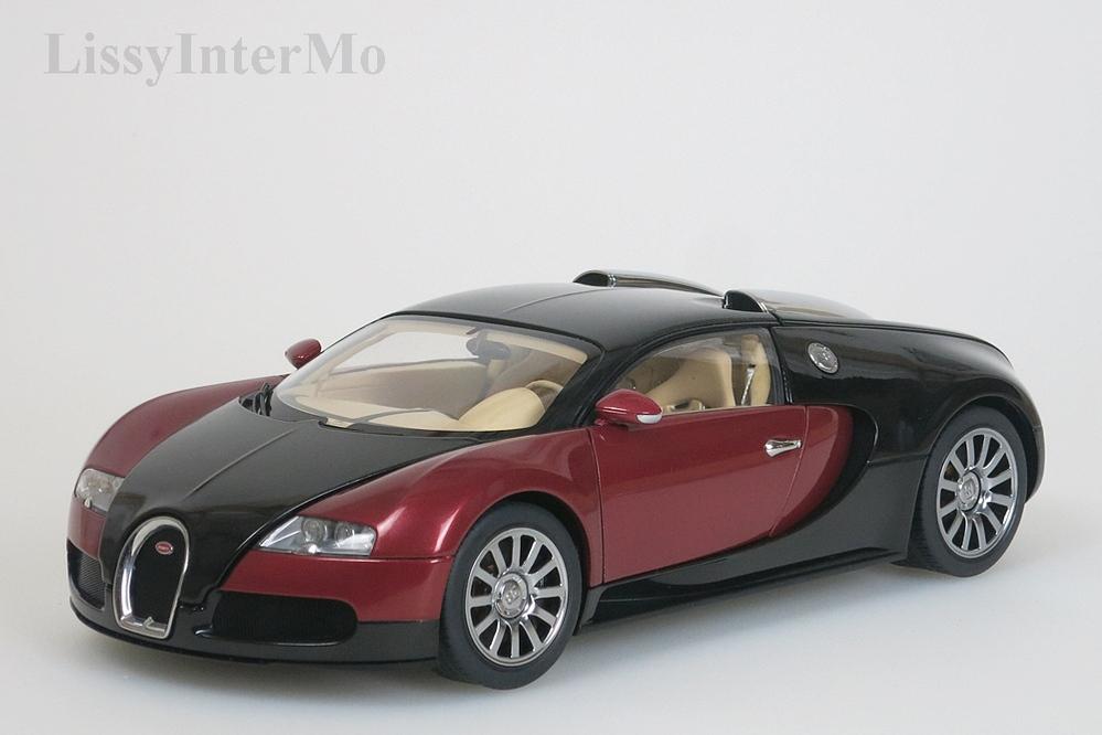 Bugatti Veyron EB 16.4  2006 Production Car #001 schwarz / rot metallic – Bild 1