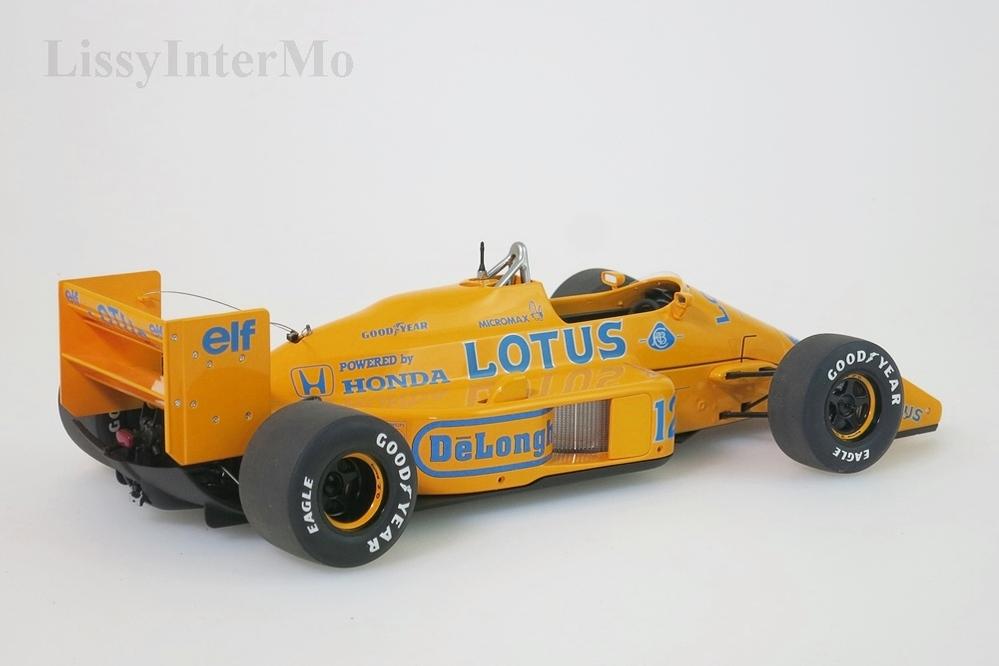 Lotus 99T Honda F1 Japanese GP 1987 Senna #12  mit Lotus-Logo – Bild 7