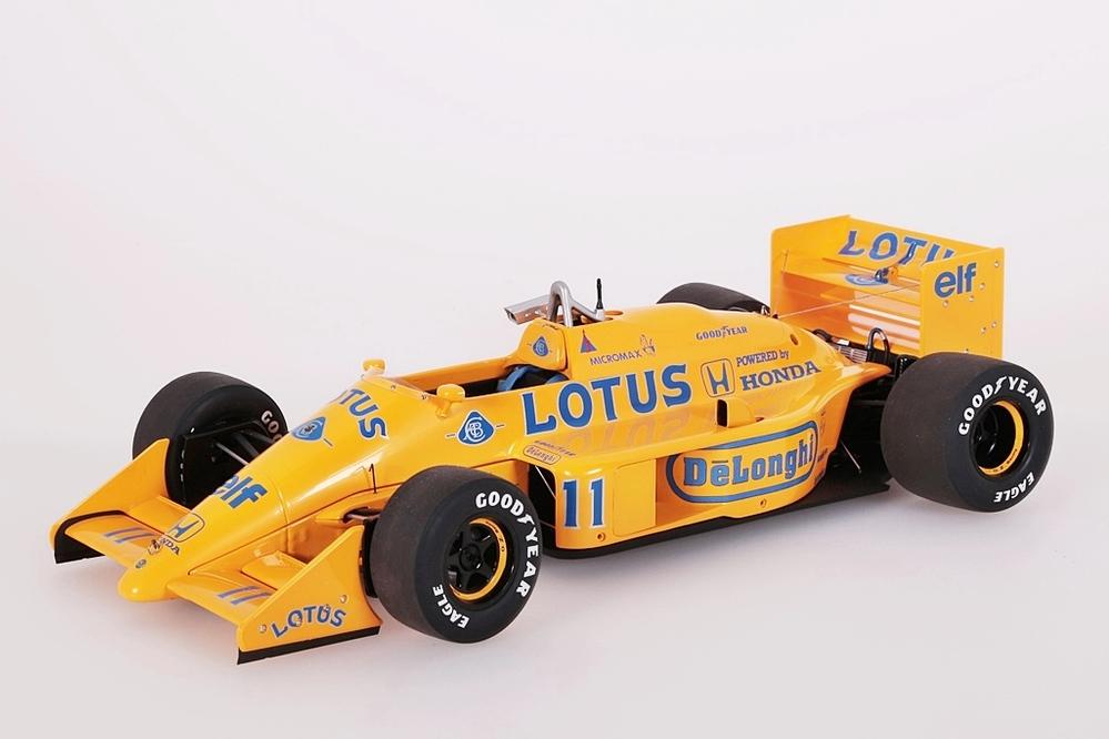 Lotus 99T Honda F1 gelb Japanese GP 1987 Nakajima #11 – Bild 1