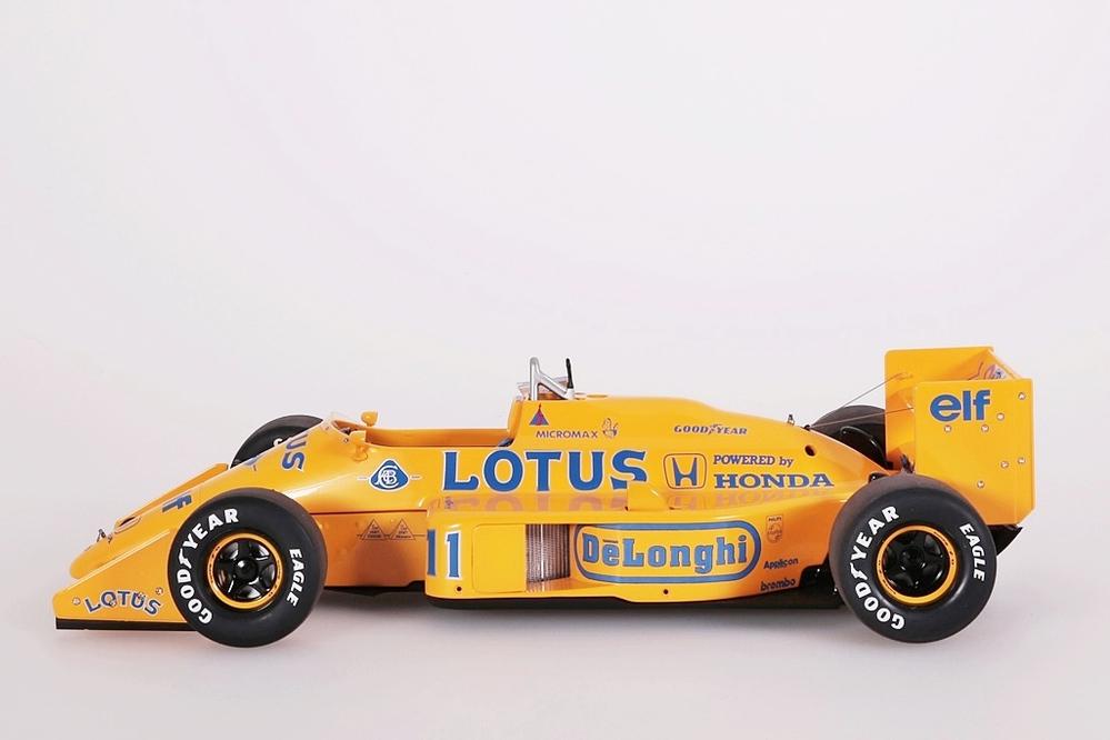 Lotus 99T Honda F1 gelb Japanese GP 1987 Nakajima #11 – Bild 3