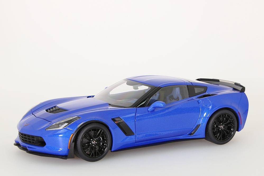 Chevrolet Corvette C7 Z06 2014  blau – Bild 1