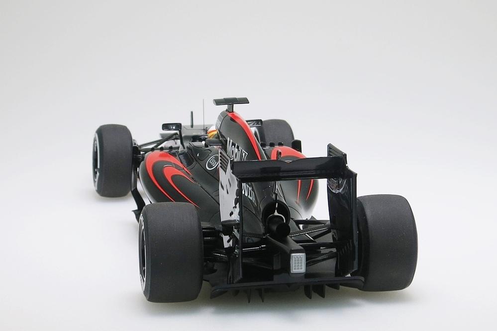 Mc Laren MP4-30 F1 2015 Alonso Barcelona/Spain. #14 schwarz – Bild 2