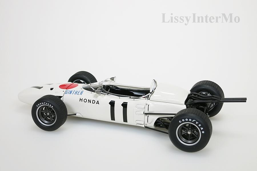 Honda RA272 F1 gelb Grand Prix Mexico 1965 Ginther #11 ohne Figur – Bild 3