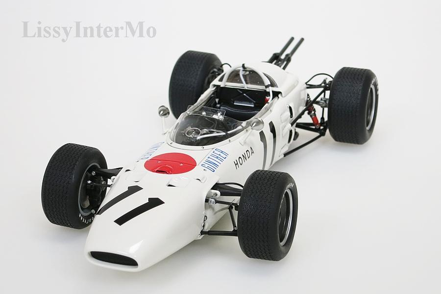 Honda RA272 F1 gelb Grand Prix Mexico 1965 Ginther #11 ohne Figur – Bild 4