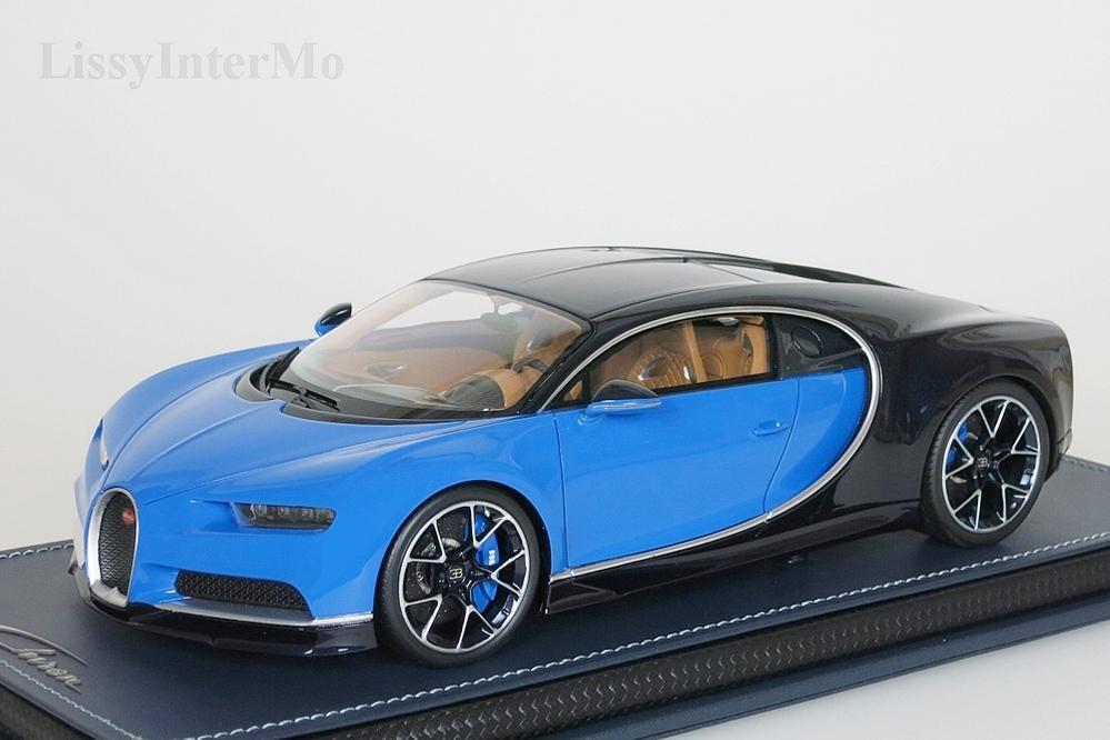 Bugatti Chiron  Sport  blau / schwarz  Le Patron  – Bild 1