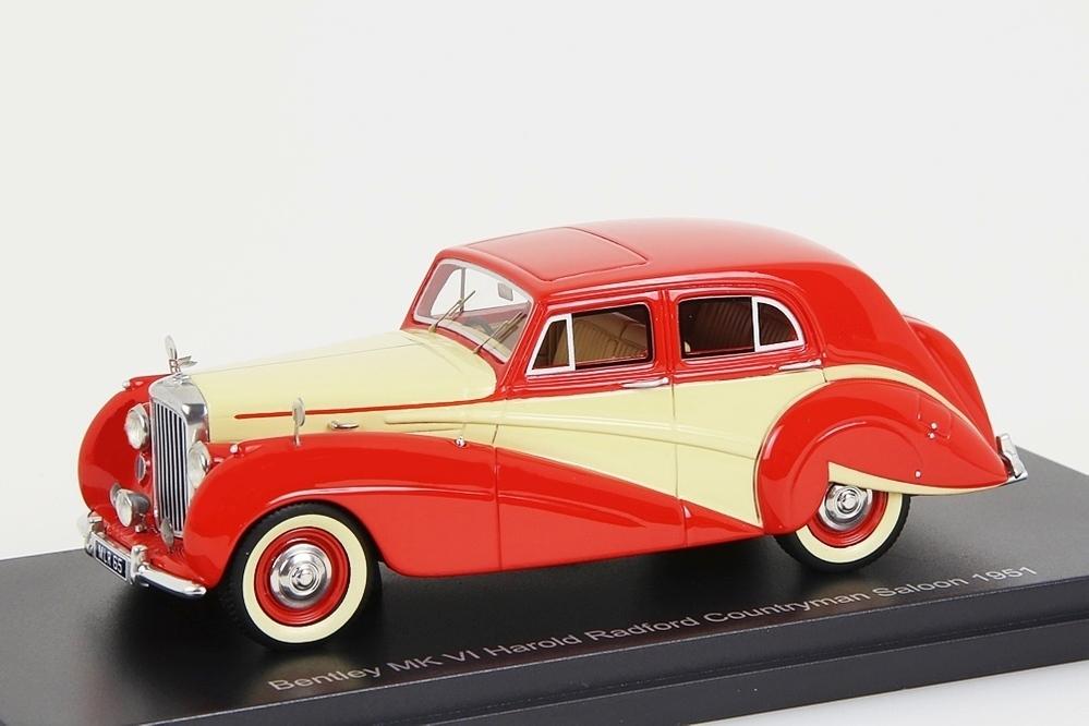 Bentley MK VI Harold Radford Countryman Saloon 1951 rot / crem – Bild 1