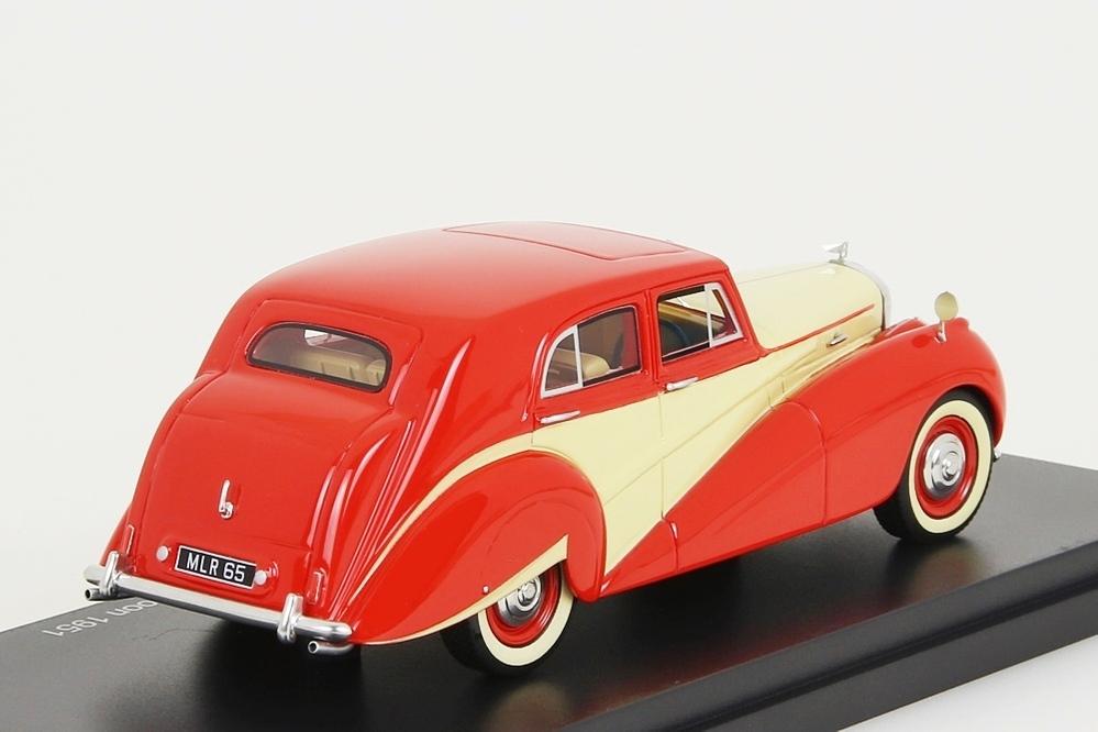 Bentley MK VI Harold Radford Countryman Saloon 1951 rot / crem – Bild 4