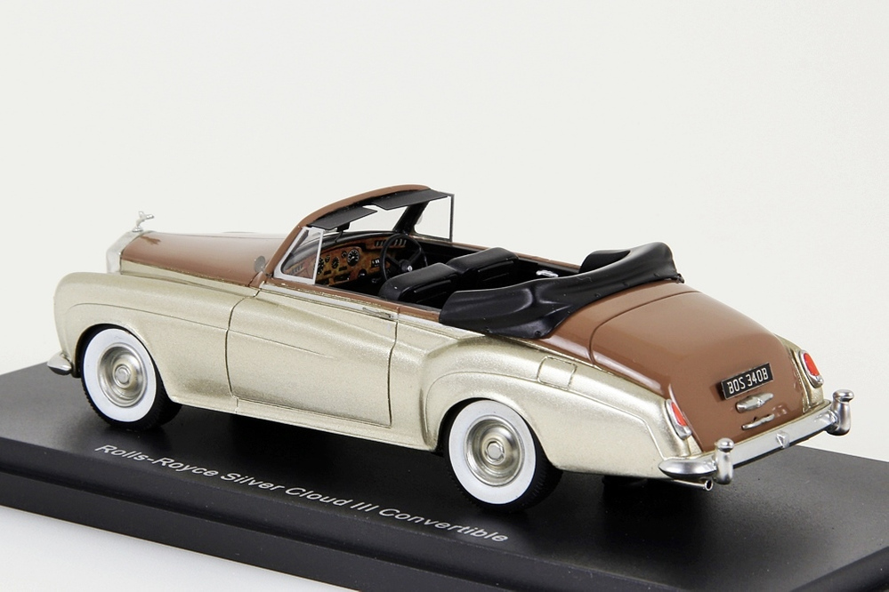 Rolls Royce Silver Cloud III Convertible gold metallic / brown – Bild 3