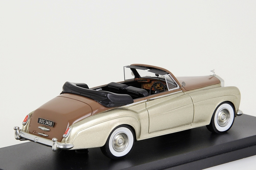 Rolls Royce Silver Cloud III Convertible gold metallic / brown – Bild 6