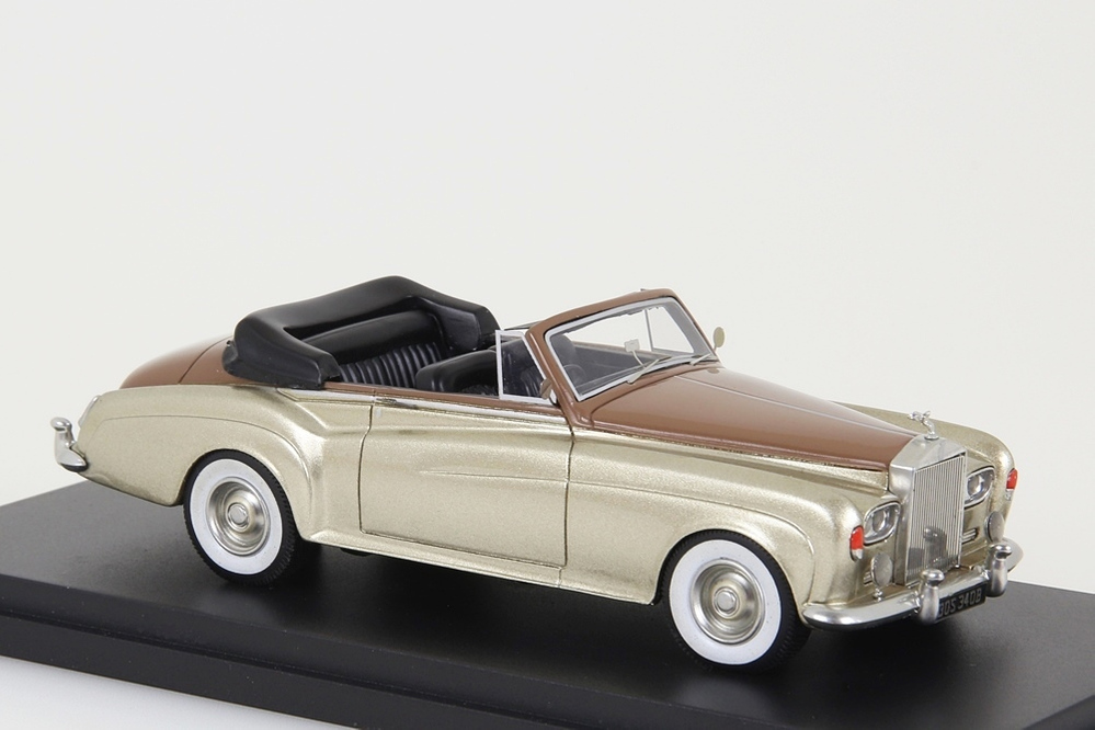 Rolls Royce Silver Cloud III Convertible gold metallic / brown – Bild 8