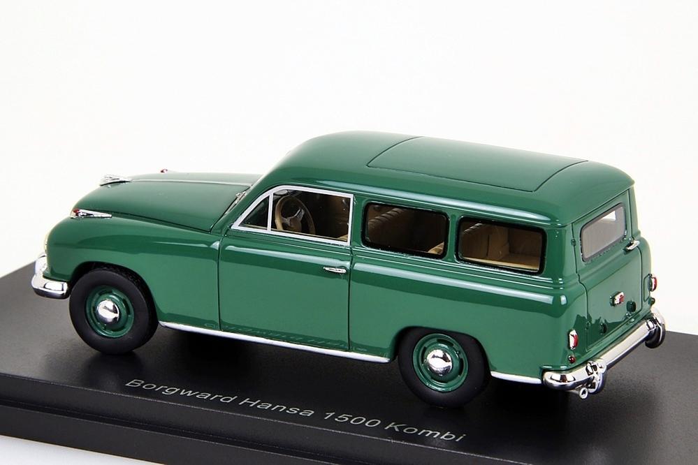 Borgward Hansa 1500 Kombi 1:43 grün – Bild 4