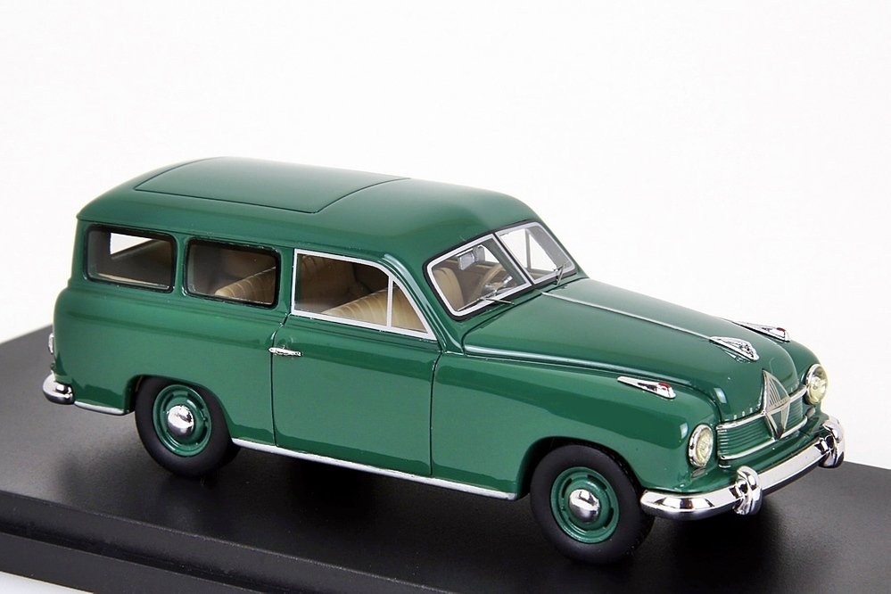 Borgward Hansa 1500 Kombi 1:43 grün – Bild 5