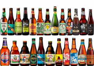 Adventskalender Internationales Craft Beer Paket mit 24 Bierflaschen