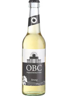OBC Original Berliner Cidre Strong 0,33 l Mw