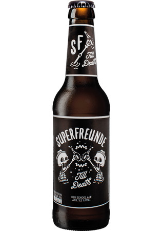 Superfreunde Till Death Old School Ale 0,33 l