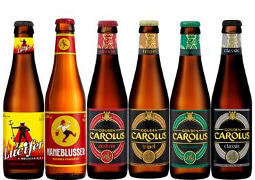 Het Anker Paket mit 6 Bierflaschen