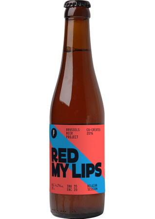 Brussels Beer Project Red My Lips 0,33 l