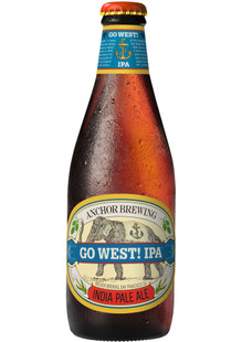 Anchor Go West IPA 0,35 l