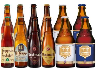 Trappistenbier Paket mit 12 Bierflaschen