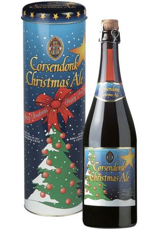 Bier Geschenk Set Corsendonk Christmas Ale 0,75 l in Metalldose - nur saisonal verfügbar
