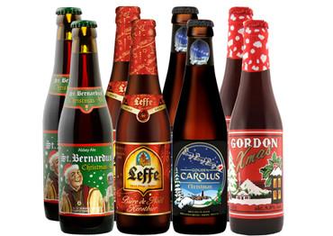 Weihnachtsbiere Bier Paket 8 x 0,33 l - nur saisonal verfügbar