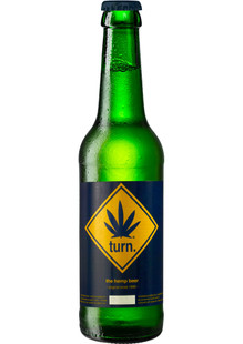 turn the hemp beer 0,33 l