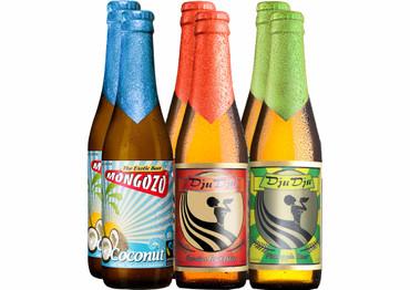 Exotisches Bier Paket Afrika mit 6 Bierflaschen