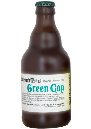 Butcher's Tears Green Cap 0,33 l