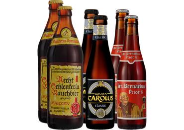 Bier Grill-Paket Rind mit 6 Bierflaschen