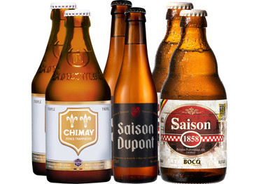 Bier Grill-Paket Fisch mit 6 Bierflaschen