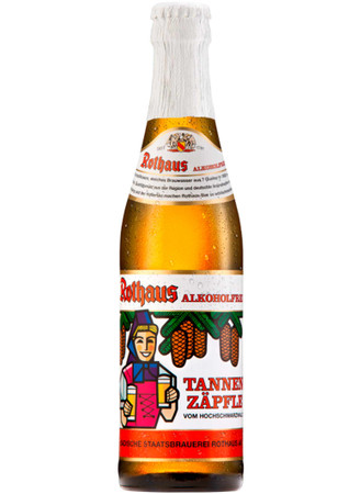 Rothaus Alkoholfrei Tannenzäpfle 0,33 l Mw