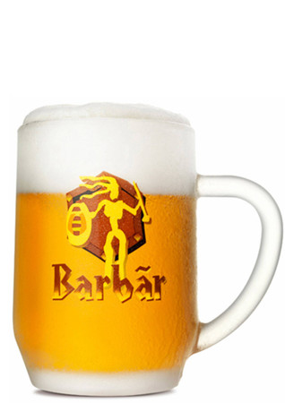 Barbar Honigbier Bierglas 0,33 l