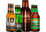 Biere in der Bar Paket mit 8 Bierflaschen 001