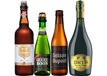Spritziges exklusives Bier Paket mit 4 Bieren