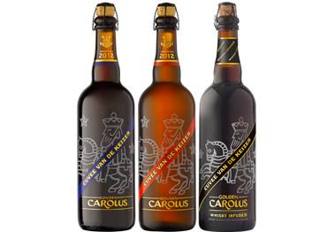 Gouden Carolus van de Keizer Bier Paket mit 3 großen Bieren