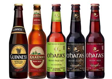 Irisches Bier Paket mit 5 Bieren
