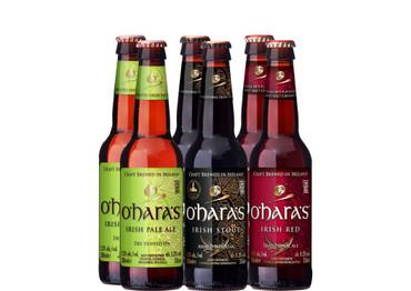 O'Hara's Irish Bier Paket mit 6 Bieren
