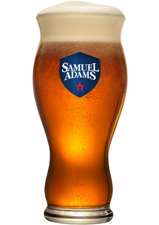 Bierglas Samual Adams 0,33 l